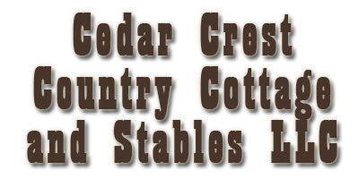 Cedar Crest Stables and Country Cottage